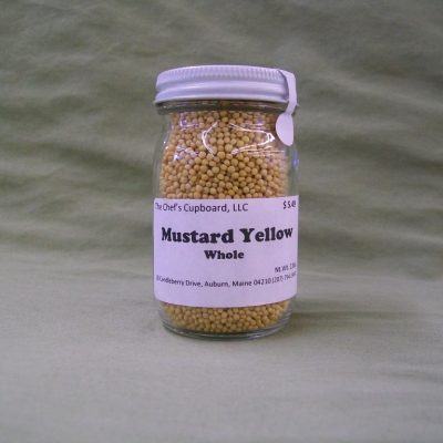 yellow mustard seeds pork chicken shellfish pickling