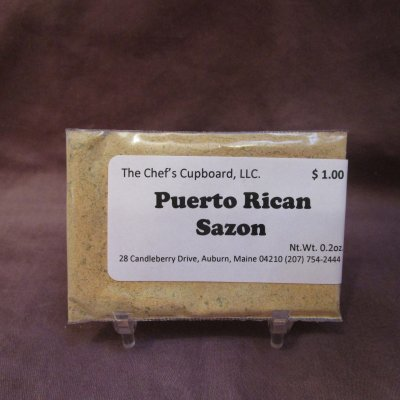 pork, chicken, fish, puerto rican sazon, vegetables