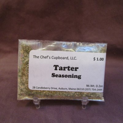 fish, tarter seasoning